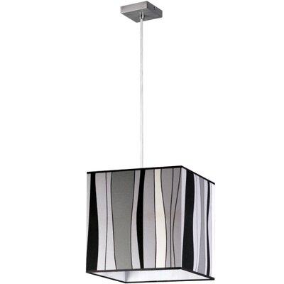 Lampex Geometrische Pendelleuchte 1-flammig Negro