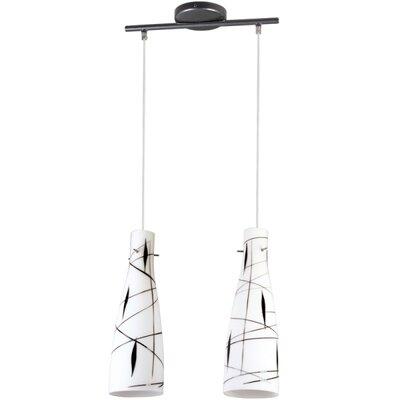 Lampex Mini-Pendelleuchte 2-flammig Tubo