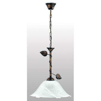 Lampex Schalen-Pendelleuchte 1-flammig Bluszcz