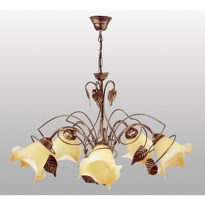 Lampex Design-Pendelleuchte 5-flammig Roslina