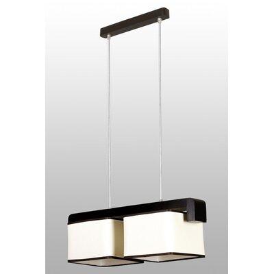 Lampex Balken-Pendelleuchte 2-flammig Arco