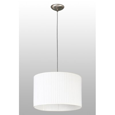 Lampex Trommel-Pendelleuchte 1-flammig Bianco