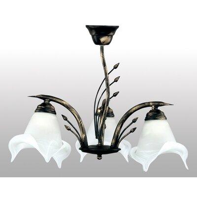 Lampex Geometrische Pendelleuchte 3-flammig Sanki