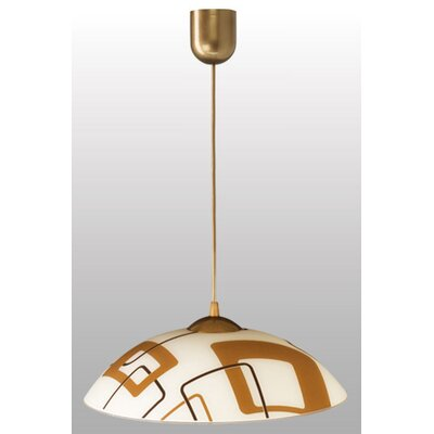 Lampex Schalen-Pendelleuchte 1-flammig Quadro