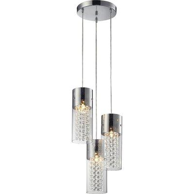 Lampex Design-Pendelleuchte 3-Flammig Torino