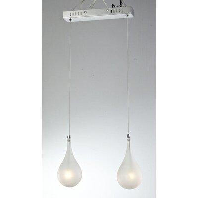 Lampex Mini-Pendelleuchte 2-flammig Avia