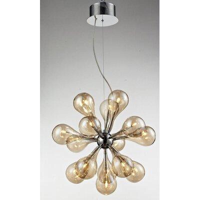 Lampex Design-Pendelleuchte 15-Flammig Ferrara