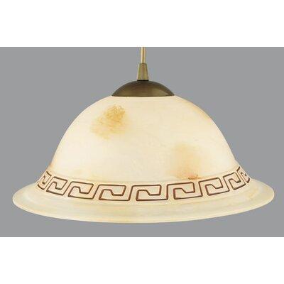 Lampex Schalen-Pendelleuchte 1-flammig Atena