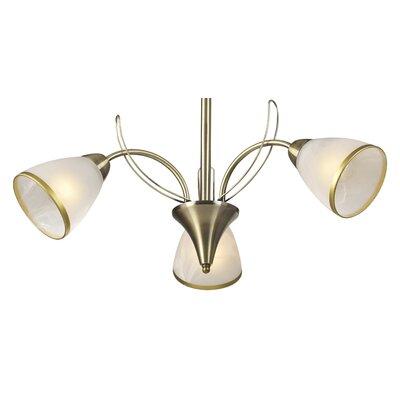 Lampex Design-Pendelleuchte 3-flammig Asturia