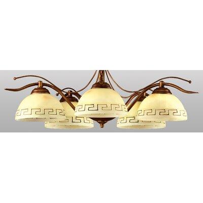 Lampex Schalen-Pendelleuchte 5-flammig Greka