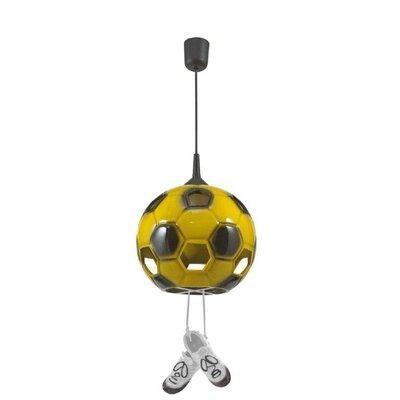 Lampex Kugel-Pendelleuchte 1-flammig Football