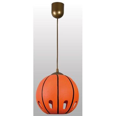 Lampex Kugel-Pendelleuchte 1-flammig Basketball