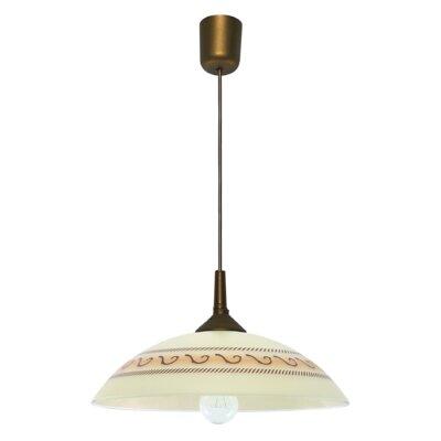 Lampex Schalen-Pendelleuchte 1-flammig Rodos