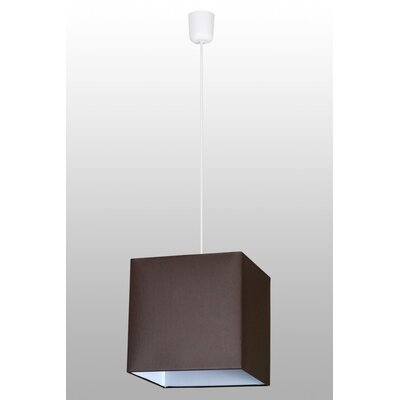 Lampex Geometrische Pendelleuchte 1-flammig Quadrat