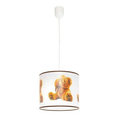Lampex Trommel-Pendelleuchte 1-flammig Teddybär