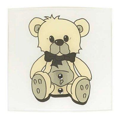 Lampex Wandleuchte 1-flammig Teddybär