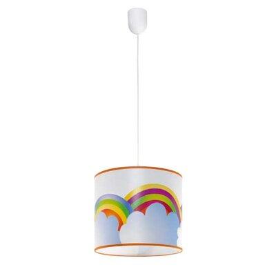 Lampex Trommel-Pendelleuchte 1-flammig Regenbogen