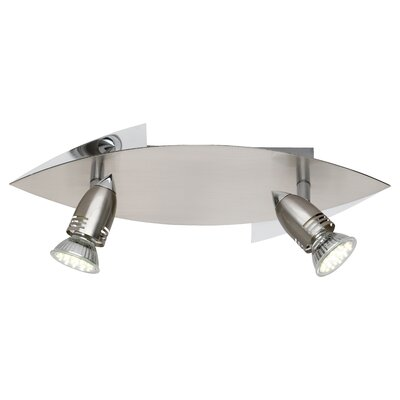 Trio LED-Deckenleuchte 2-flammig