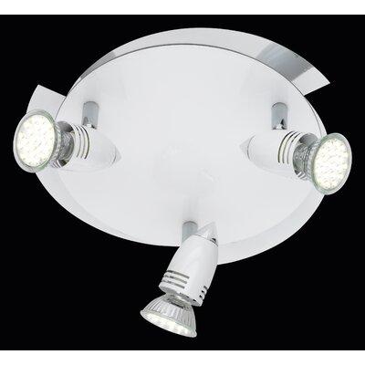 Trio LED-Deckenleuchte 3-flammig