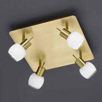 Trio LED-Deckenleuchte 4-flammig