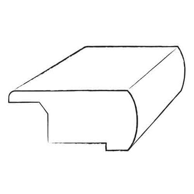 """Armstrong 0.81"""" x 3.13"""" x 78"""" Maple Overlap Stair Nose"""