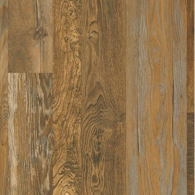 "Architectural Remnants 7"" x 48"" x 12mm Oak Laminate Flooring in Old Original"