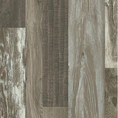 "Architectural Remnants 8"" x 48"" x 12mm Oak Laminate Flooring in Old Original Barn Gray"