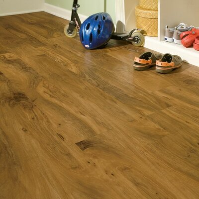 "Armstrong Luxe Kingston Walnut 6"" x 48"" x 4.06mm Luxury Vinyl Plank in Natural"