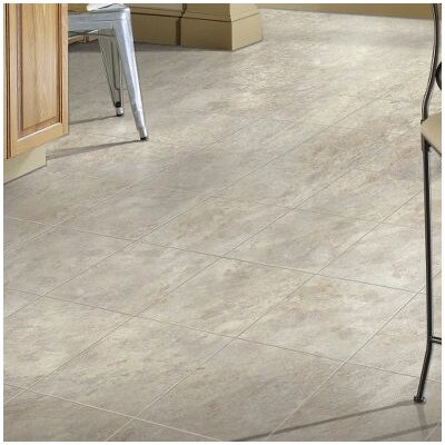 """Stone Creek 12"""" x 48"""" x 8.3mm Tile Laminate Flooring in Glace"""