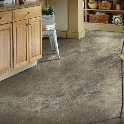 """Armstrong Stone Creek 12"""" x 48"""" x 8mm Tile Laminate in Azul"""