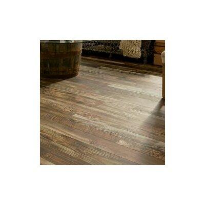 "Architectural Remnants 7.64"" x 47.83"" x 12mm Oak Laminate Flooring in Old Original Wood Brown"