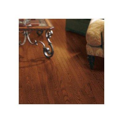 "Armstrong Somerset 2-1/4"" Solid Oak Hardwood Flooring in Cabernet"