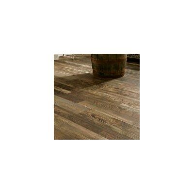 "Architectural Remnants 7"" x 47.83"" x 12mm Oak Laminate Flooring in Old Original Dark"