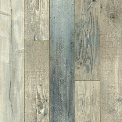 "Architectural Remnant Seaside Pine 4.92"" x 47.84"" x 12mm Luxury Vinyl Laminate Flooring in Salt Air"