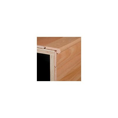 "Armstrong 0.5"" x 2.75"" x 78"" Maple Stair Nose in Sahara Sand"
