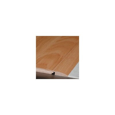 """Armstrong 0.75"""" x 2.25"""" x 78"""" Red Oak Reducer in Saddle"""