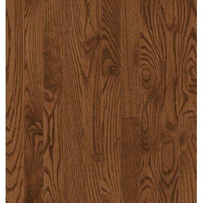 Bruce Flooring SAMPLE - Manchester Plank Solid Red Oak in Saddle