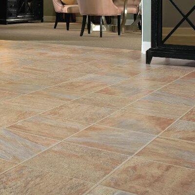 "Bruce Flooring GardenStone 12"" x 48"" x 8mm Tile Laminate in Monzone"
