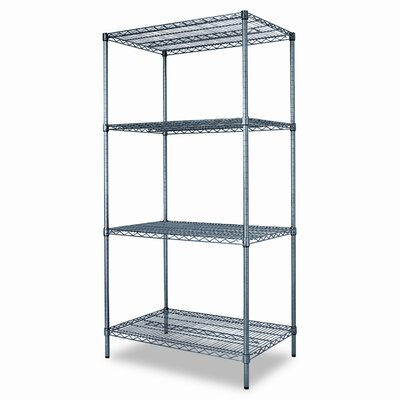 "72"" H x 36"" W Wire Shelving Starter Kit"