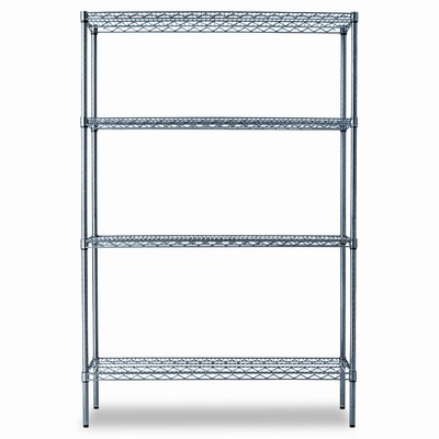 "72"" H x 48"" W Industrial Shelf Shelves Shelving Starter Kit"