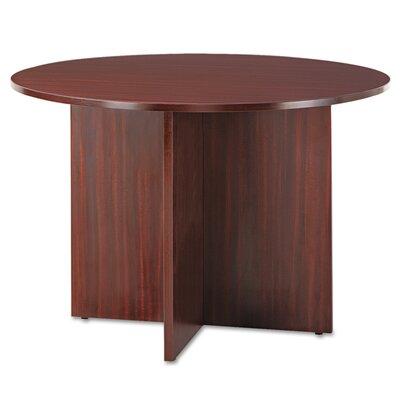 "Kania Circular Conference Table Finish: Mahogany, Size: 29.5"" H x 44.49"" W x 44.49"" L"
