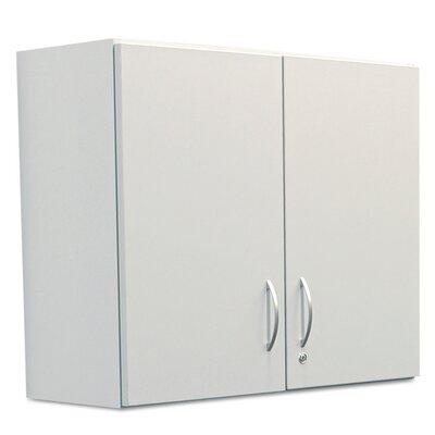 Plus 2 Door Storage Cabinet Finish: Gray