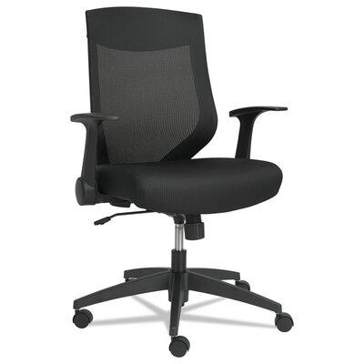 EBK Series Synchro High-Back Mesh Desk Chair Upholstery: Black / Black