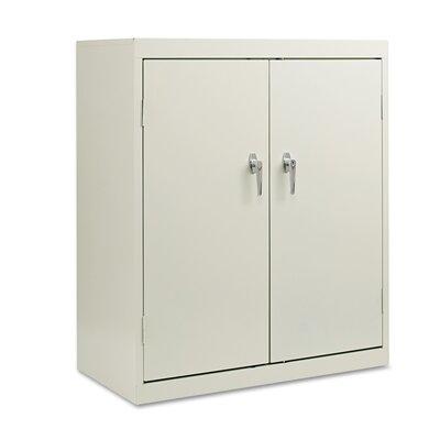 2 Door Storage Cabinet Finish: Light Gray
