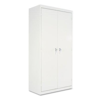 2 Door Storage Cabinet Color: Light Gray