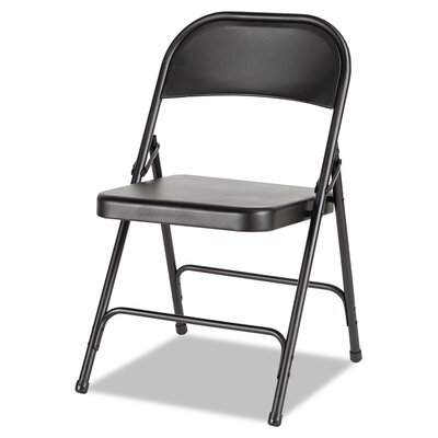 Metal Folding Chair Color: Graphite
