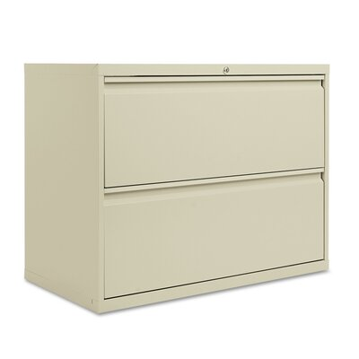 2-Drawer Lateral Filing Cabinet Finish: Putty