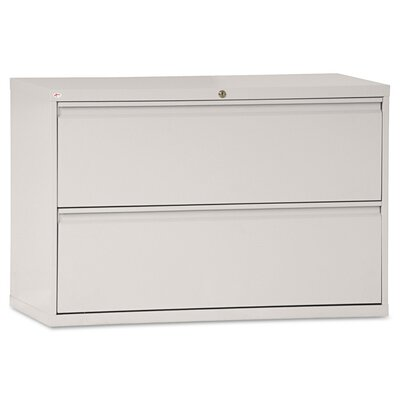 2-Drawer Lateral Filing Cabinet Finish: Light Gray