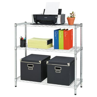"Residential Wire 36"" Three Shelf Shelving Unit"