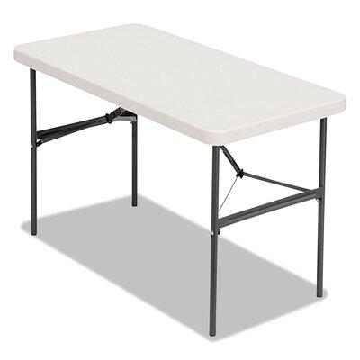 "Banquet Rectangular Folding Table Size: 29"" H x 48"" W x 24"" D"